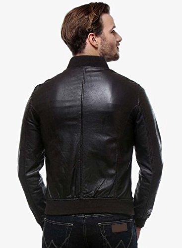 Hidewear mens PU leather jacket