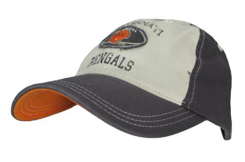 Cincinnati Bengals Nfl Youth Retro Slouch Flex Cap Hat (Boys 8-20)