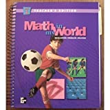 Math In My World (Developing ProblemSolvers) (McGraw-Hill School and Glencoe Mathematics, Grade 5 Pa