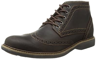Skechers Men's Mark Nason Batley Chukka Boot,Dark Brown,9.5 M US