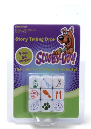 Scooby-Doo Story Telling Dice
