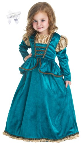 Little Adventures Scottish Princess Dress Costume with Hairbow
