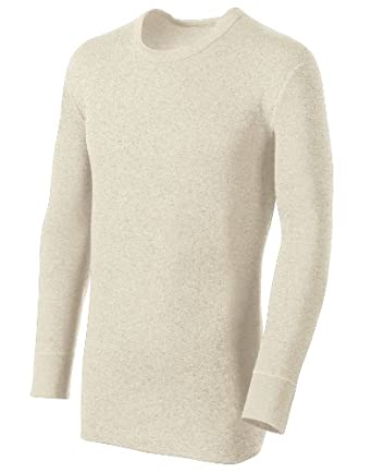 Duofold Originals Men's Long Sleeve Crew Oatmeal Heather X-Large