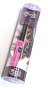 Original Yogi Pink Zebra Stripe Hair Curling Wand Tongs Free Heat Resistant Glove by Yogi