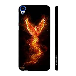 Enthopia Designer Hardshell Case Fire Bird Back Cover for HTC Desire 820