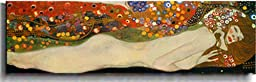 Sea Serpents III by Klimt Premium Stretched Canvas (Ready to Hang)