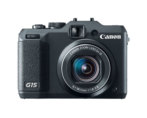 Canon PowerShot G15 12.1 MP Digital Camera  5x