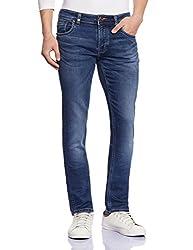 Lawman Men's Slim Fit Jeans (8907201893603_PG3 VRTB-24STR SLMFT EGPTNBL_34W x 34L_Blue)
