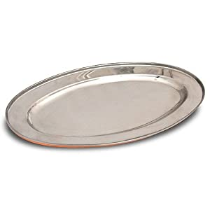 Serveware Tray Platter Oval Indian Dinnerware 8.5 Inches Long