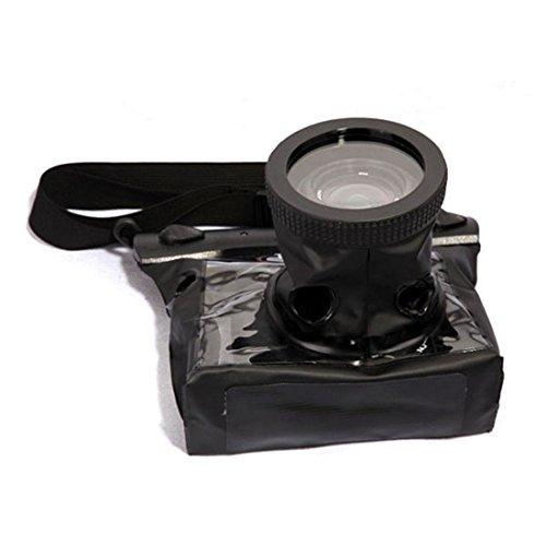 SMO 20M Caisson Boîtier étanche plongée Sac pour appareil photo reflex numérique Noir