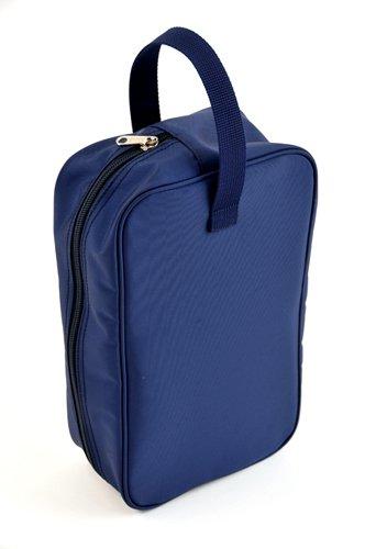 紺色ナイロン製・シューズバッグ:お子様用