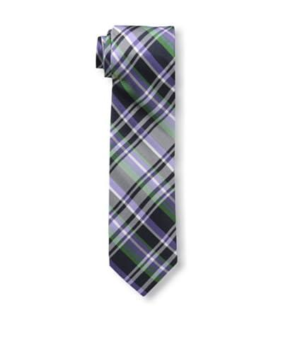 Ben Sherman Men's Newport Plaid Tie, Purple