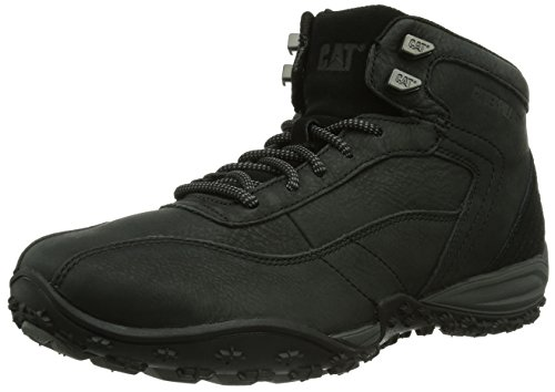 Cat Footwear UTILIZE, Sneaker a collo alto Uomo, Nero (Schwarz (MENS BLACK)), 46 (12 uk)