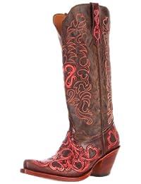 Tony Lama Boots Women's Hearts 1020L Boot