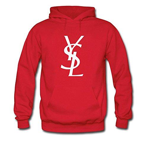 Yves Saint Laurent Hoodies - Felpa - ragazzo rosso Large