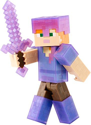 Minecraft - 12cm Action Spielfigur - Alex mit Rüstung