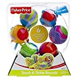 Fisher Price Touch & Tickle Roll a Rounds, Peek a boo Balls