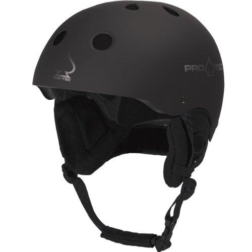Pro-Tec Helm U CLASSIC SNOW, Matte Black 09, S
