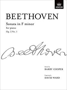 Sonata In F Minor Op 2 No 1 From Vol I Signature Series Abrsm from OUP Oxford