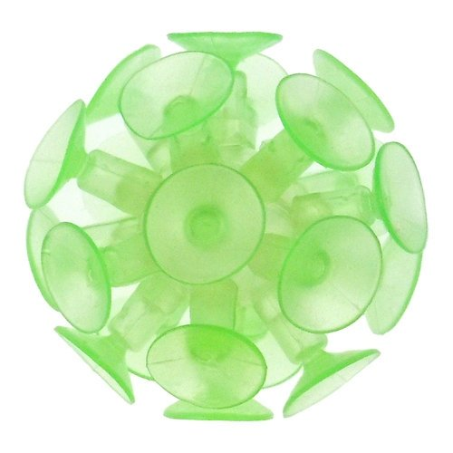 Suction Ball - 2 inch, Glow-in-the-Dark