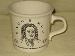 Bach's WFLN Philadelphia Orchestra Marathon V Porcelain Coffee Mug - Made In USA