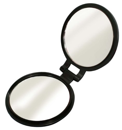 Double-Sided Compact Mirror (10X Magnifying Glass With) Yl-10 front-59432