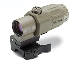 EoTech G33.STS G33 Side Mount Red Dot Sight Magnifier with Switch, Black Matte Finish by EOTech