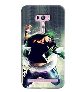 Omnam Boy Doing Free Style Dance Printed Designer Back Cover Case For Asus Zenfone Selfie