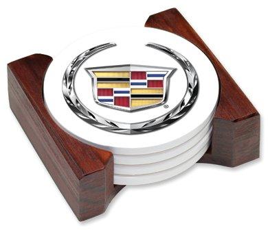 Get The Lowest Price Cadillac Logo Ceramic Drink Coaster