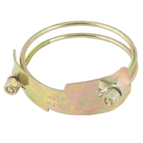 "3.5"" - 4"" 8.9-10.2Cm Adjustable Metal Wire Water Gas Tube Hose Clamp"