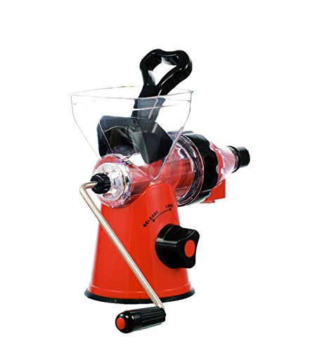 Zweissen Cold Press Juicer : ZWEISSEN Hand Operated Fruit and vegetable Masticating Slow juicer and Cold Press pulp extractor ...