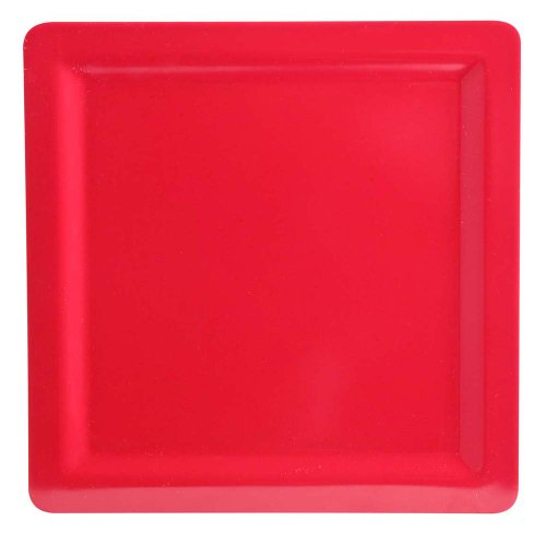 Zak Designs Callaway 8-Inch Salad Plate, Red