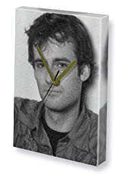 CALLUM BLUE - Canvas Clock (LARGE A3 - Signed by the Artist) #js001