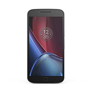 Motorola Moto G4 Plus 16GB Single SIM-Free Smartphone - Black (Exclusive to Amazon)