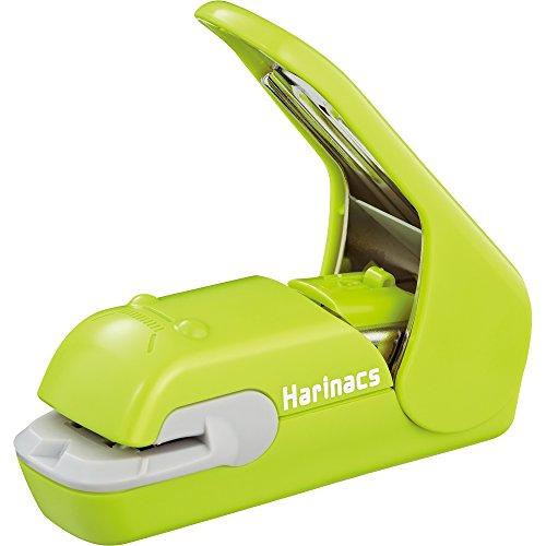 コクヨ 穴があかない針なしステープラー ハリナックスプレス 緑 SLN-MPH105G