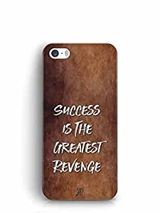 YuBingo Success is the Greatest Revenge Designer Mobile Case Back Cover for Apple iPhone SE