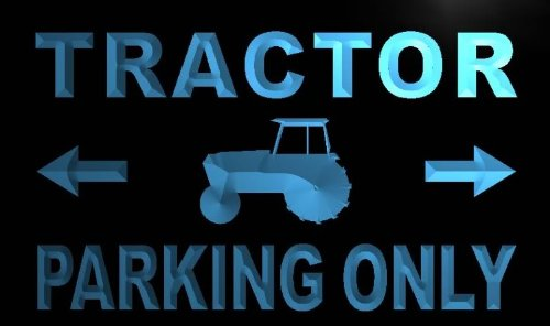 Adv Pro M429-B Tractor Parking Only Neon Light Sign
