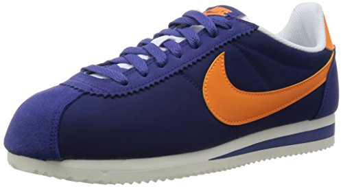Nike Uomo Classic Cortez Nylon scarpe sportive Blu Size: 40