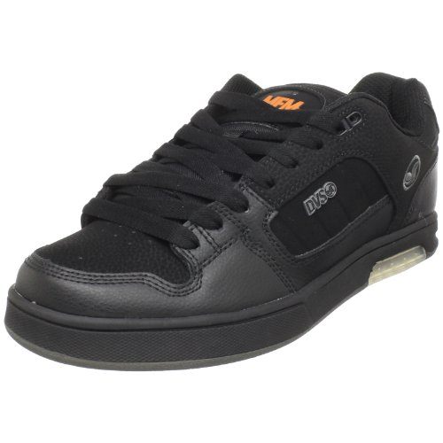 DVS Men's Modem Snow MFM Skate Shoe,Black Ft Nubuck,10 M US
