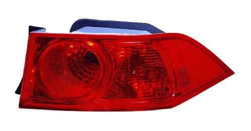 Acura TSX 06-08 Tail Light Assembly Rh US Passenger Side by Depo