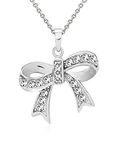 Saint Francis Crystals Collana Argentato Unica