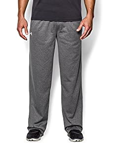 Under Armour Men's Armour® Fleece Open Bottom Team Pants Extra Extra Large Carbon Heather