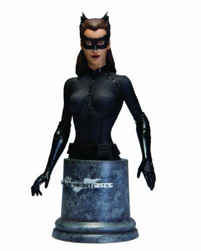 DC Direct The Dark Knight Rises: Catwoman Bust at Gotham City Store