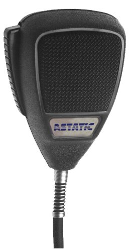 Astatic Omnidirectional Dynamic Palmheld Microphone With Talk Switch