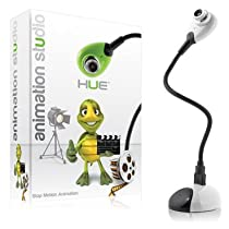 Big Sale Best Cheap Deals Hue Animation Studio (White): the complete stop motion animation kit with camera for Windows PCs and Apple Mac OS X