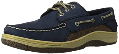 Sperry Top-Sider Men's Billfish 3-Eye Wool,Navy/Brown Wool,US 8 M