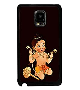 printtech Baby Kid Lord Hanuman Back Case Cover for Samsung Galaxy Tab 4 7.0 T231