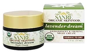 SanRe Organic Skinfood SanRe Organic Skinfood Lavender Dream 100% USDA Organic Lavender and Calendula Night Cream For Dry to Normal Skin