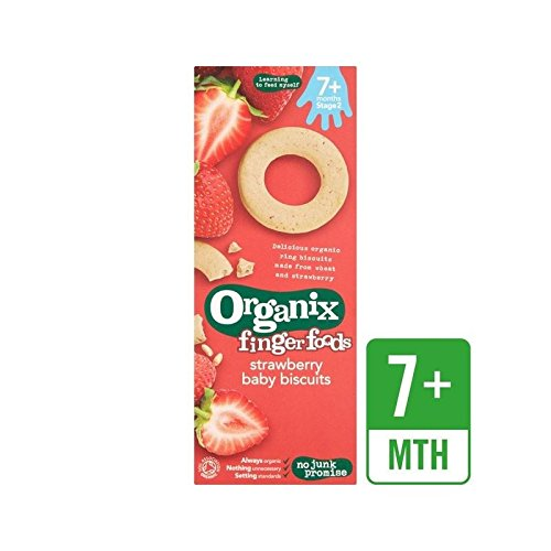 Organix-Erdbeere-Baby-Kekse-54G