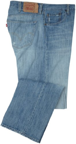 Levi's Men's Big And Tall 501 Original Fit Jean, Light Mist Big & Tall, 50x34